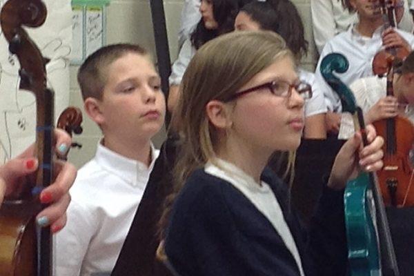 6th Grade Violinists