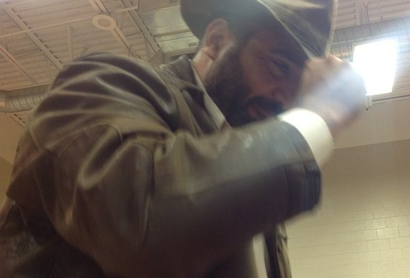 Mr. Castaneda as Indiana Jones