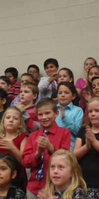 Third Graders Celebrate the Season- Christmas Concert