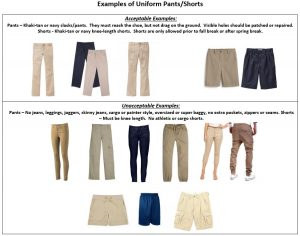 Examples of Pants-Shorts